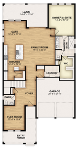 RockWell Homes -  Eliot First Floor