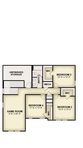 RockWell Homes -  Eliot Second Floor