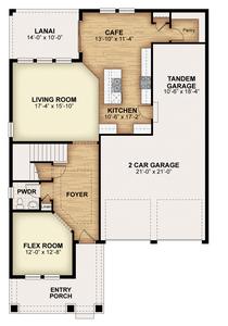 RockWell Homes -  Faulkner First Floor