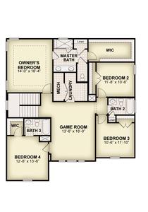 RockWell Homes -  Faulkner Second Floor