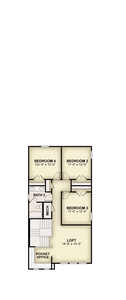 RockWell Homes -  Fitzgerald Second Floor