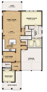 RockWell Homes -  Frost First Floor