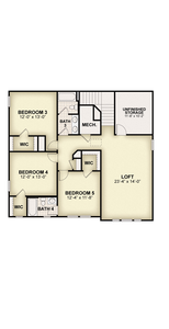 RockWell Homes -  Frost Second Floor