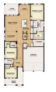 RockWell Homes -  Hemingway First Floor