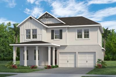 RockWell Homes -  Eliot Farmhouse Elevation