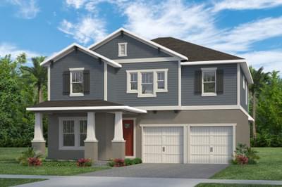 RockWell Homes -  Faulkner Craftsman Elevation