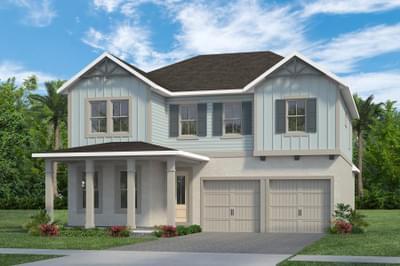RockWell Homes -  Faulkner Farmhouse Elevation