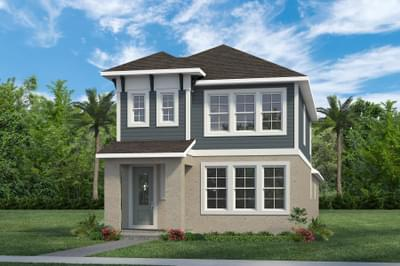 RockWell Homes -  Fitzgerald Coastal Elevation