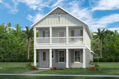 RockWell Homes -  Fitzgerald Farmhouse Elevation
