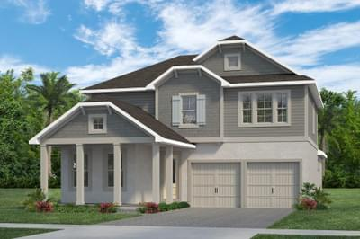 RockWell Homes -  Frost Cottage Elevation