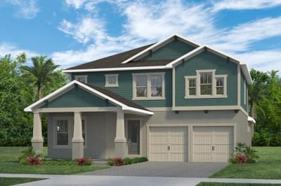 RockWell Homes -  Frost Craftsman Elevation