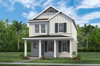 RockWell Homes -  Whitman Farmhouse Elevation